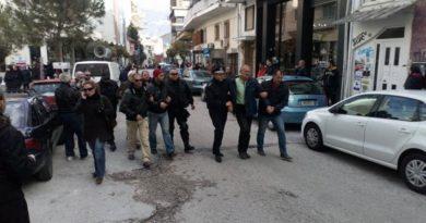 Καταγγελία για την εργοδοτική τρομοκρατία και την κρατική καταστολή