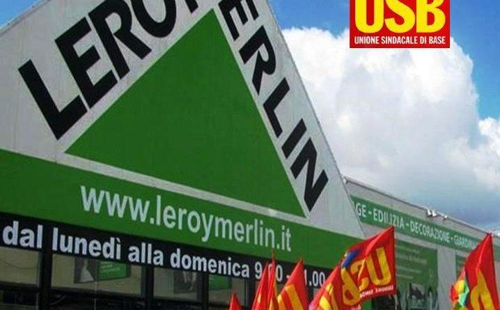 Αλληλεγγύη στη συνδικαλιστική οργάνωση USB και τους εργαζόμενους της LEROY MERLIN στην Ιταλία