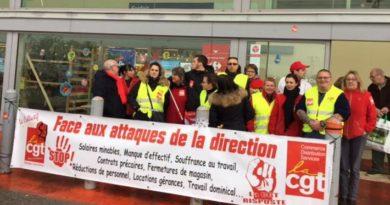 Αλληλεγγύη στους Εργαζόμενους της Carrefour